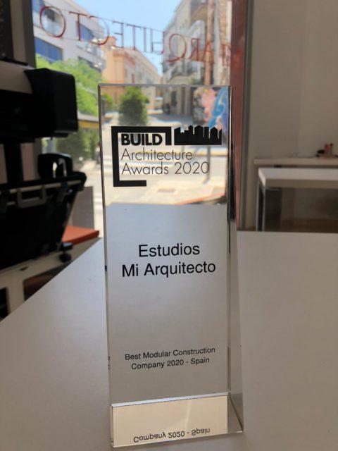 Trofeo BUILD al mejor constructor modular de España 2020